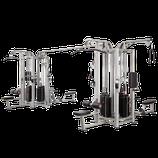 Steelflex 8 Multi- Stations Studiogerät mit 8 x 95 Kg Gewichtstürmen