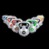 Kettlebells von 2 Kg - 20 Kg mit Kunststoffüberzug