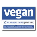 Vegan social network - Sticker