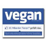Vegan social network - Sticker