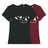 Until all are Free T-Shirt - klein/taillierter Schnitt
