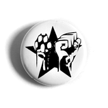 Faust Pfote Stern - Button