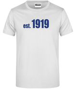 "T-Shirt ""1919"" weiß"