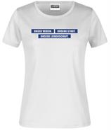 """T-Shirt """"Unser Verein..."""" Weiß"""