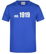 "T-Shirt ""1919"" blau"