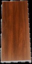 PVC Fensterbank Nussbaum