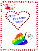 Glitter for a better World - Magnet