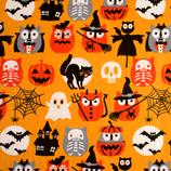BW Halloween Eulen
