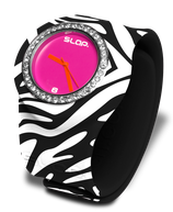 Slapwatch Zebra Bling