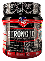 MLO Nutrition Strong 10 Pump Booster /Pulver in 2 Geschmackssorten