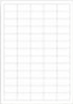 Etiketten, 38 x 21.2 mm,  für Flachbodengläser