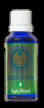 CURATERRA® 4 ESSENCE - HEALING. Puscht die Selbstheilungskräfte und unterstützt die Genesung. Kann auch präventiv (reinigend) verwendet werden.