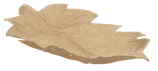 Schale in Blattform