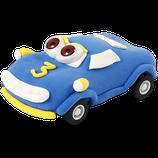 Funny Cars Blauer Rennwagen