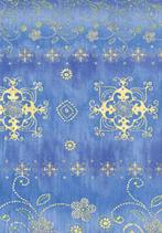 Décopatch Papier 391 Schnörkel in Blau