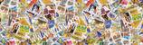 """Reispapier """"Briefmarken"""""""