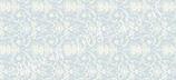 "Reispapier ""Blumen-Ornamente weiß-blau II"""