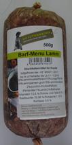Barfmenü Lamm