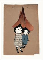 """Postkarte """"Denk an mich - Tango"""""""