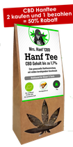 CBD Hanftee bis zu 1,7% 30g #CBD DEAL ON BLACK FRIDAY