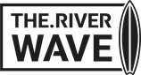 THE.RIVERWAVE Baseball 3/4 Shirt schwarz/weiß