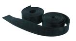 Nylon-Gurtband schwarz mit Logo 2x2m