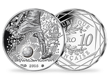 10 Euro Münze Fußball EM 2016 Frankreich