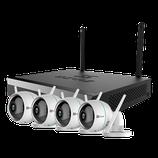 Kit de vidéosurveillance WiFi 4 cameras