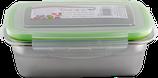 Dora's Lunchbox Edelstahl mit dichtem Deckel aus PP