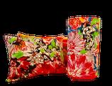"""Lampe à poser - Lampe à suspendre. Tissu """"Bouquet"""" de chez Lalie Design - 100 % coton. Différentes tailles et formes."""