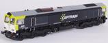 Heljan 66212, Diesellok Class 66, Captrain, Epoche VI, AC