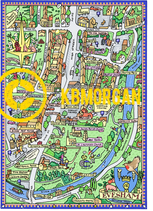A4 Town map prints...SPECIAL PRICE FOR NEXT FEW WEEKS