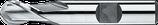 16 - 25mm HSS-E Radiusfrees, 2-snijder