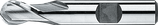2 - 8mm HSS-E Radiusfrees, 2-snijder