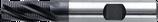 12 - 16mm HSS-E: Ruwfrees TiAIN, Fijn