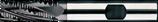 16 - 28mm HSS-E: Ruwfrees TiAIN, Rond