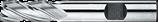 2 - 10mm HSS-E Schachtfrees Meersnijder