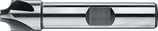 1.0 - 5.5mm R: HSS-E Radiusfrees Kwartholfrees