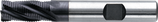 6 - 10mm HSS-E: Ruwfrees TiAIN, Fijn