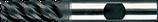 6 - 10mm PM-HSS: Ruwfrees TiAIN, Fijn