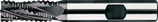 30 - 40mm HSS-E: Ruwfrees TiAIN, Rond