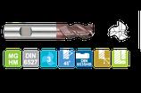 3 - 9mm VHM Universeelfrees: 45gr Spiraal