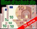 Bon d'achat de 50 euros