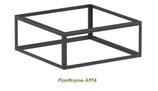 Plantframe van aluminium