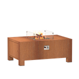 Vuurtafel BRANN Cortenstaal  (gasgestookt)
