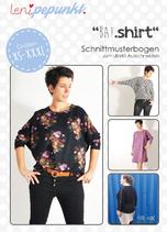 BAT.shirt Papierschnittmuster Leni Pepunkt Shirt Damen Erwachsene XS - XXXL