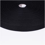 Gurtband, 2cm, 2 Meter, schwarz