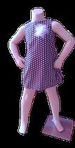 Ballonkleidchen dunkelblau
