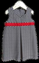 Kleidchen Kellerfalte Blau
