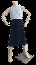 Neckholder Kleidchen blau